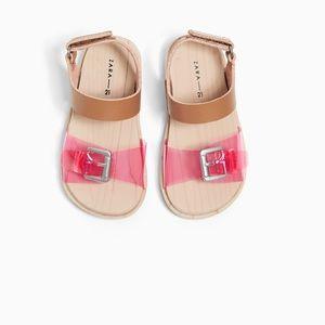 Vinyl Clog Style Sandals Zara Toddler Girl 23